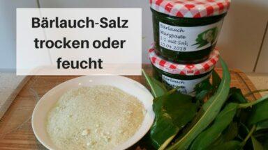 Bärlauch Salz (c) Heike Engel
