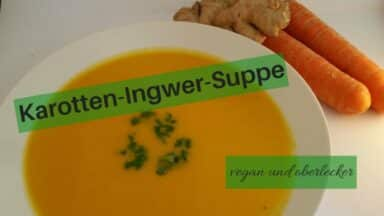 Karotten-Ingwer-Suppe (c) Heike Engel