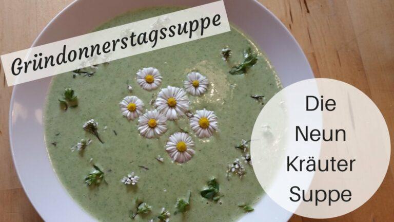 Neunkräutersuppe (c) Heike Engel