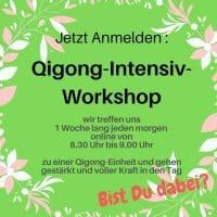 Qigong Intensiv Workshop Heike Engel StrahleMensch