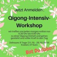 Qigong Intensiv Workshop